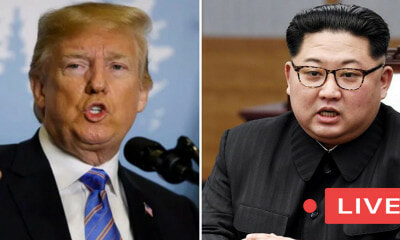 [WATCH] Historic Trump-Kim Summit Live in Singapore - WORLD OF BUZZ 1