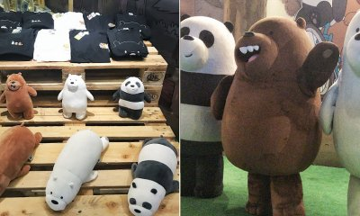 'We Bare Bears' Has a Pop-Up Store and It's Right Here At TGV Velocity Mall and We Are All For It! - WORLD OF BUZZ 3