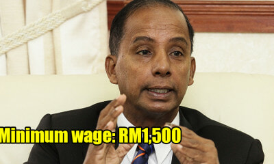 HR Minister Just Announced RM1,500 as New Minimum Wage, To be Gazetted in 2 Months - WORLD OF BUZZ
