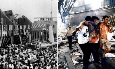 30 Years Ago on This Day: The Tragic Collapse of the Sultan Abdul Halim Ferry Terminal Bridge - WORLD OF BUZZ