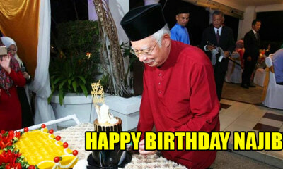 It's Najib's 65th Birthday Today! Here's a Recap of What Happened Since GE14 - WORLD OF BUZZ