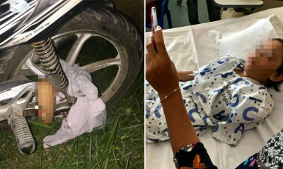 7yo Girl's Arm Completely Ripped Off When Over-Sized Shirt Gets Stuck in Motorbike Wheel - WORLD OF BUZZ 1