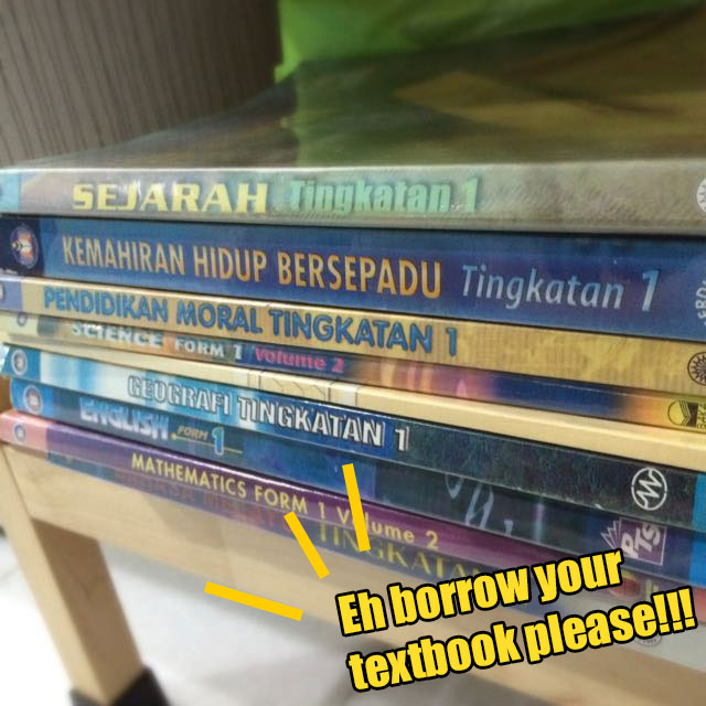 8 Things All M'sians Confirm Experienced When Entering Sekolah Menengah - WORLD OF BUZZ 10