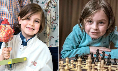 8yo Kid with IQ of 145 Completes High School in Just 18 Months, Now Ready for Uni - WORLD OF BUZZ