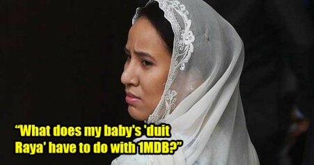 Najib's Daughter Lashes Out at New Govt for Freezing Her Baby's Bank Account - WORLD OF BUZZ
