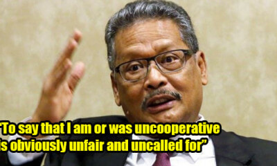 Apandi Ali Unhappy With Swiss AG for Accusing Him of Not Cooperating With 1MDB Probe - WORLD OF BUZZ