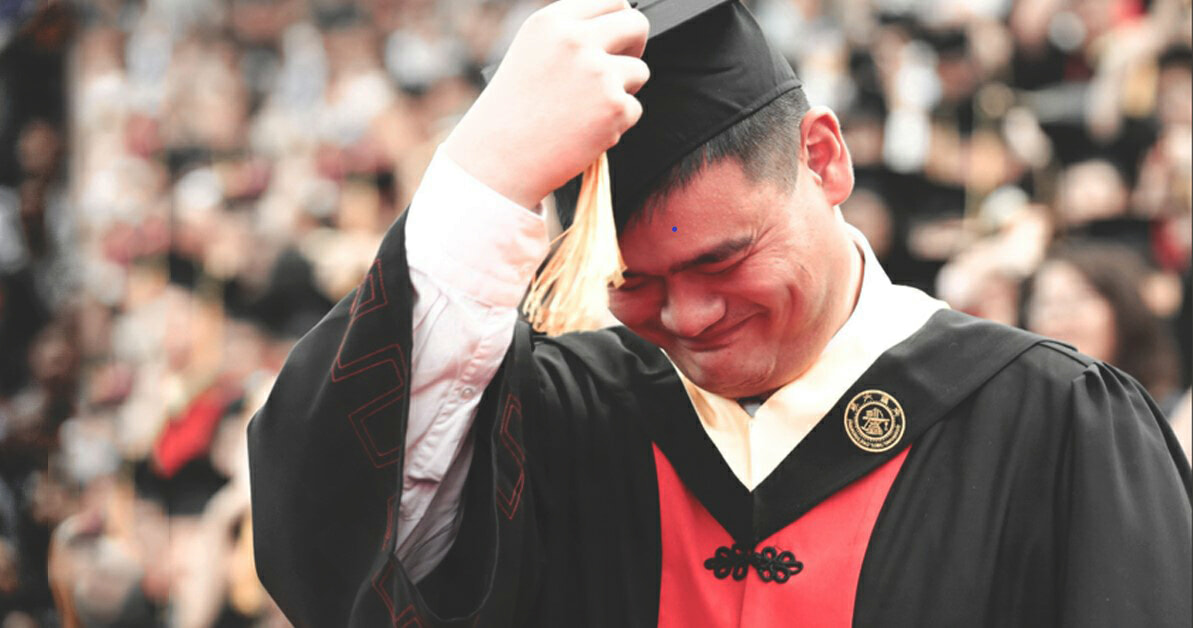 At Age 38, Yao Ming Shows It's Never Too Late To Get Your Degree - World Of Buzz