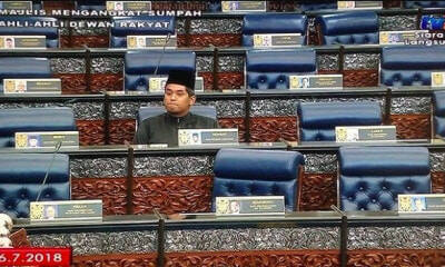 BN & PAS Members Walk Out During First Day Of New Parliament, But KJ Remains Inside - WORLD OF BUZZ 1