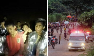 BREAKING: All 12 Boys & Their Football Coach Are Officially Out Of The Tham Luang Cave! - WORLD OF BUZZ 3