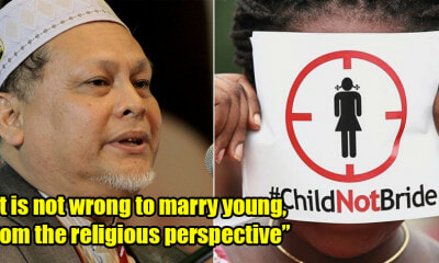 PAS Vice President: Child Marriage Ban Cannot Be Accepted as it Goes Against Religious Teachings - WORLD OF BUZZ