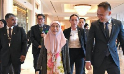 DPM Wan Azizah Flew Via Commercial Airline to Mongolia to Reduce Government Spending - WORLD OF BUZZ 4