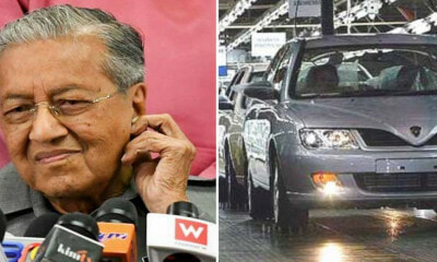 """Forget About Vision 2020,"" Disappointed Tun M Says About Reactions to New National Car - WORLD OF BUZZ"