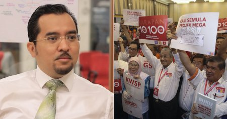 Say Sorry If You Can't Fulfil 100-Day Manifesto, Umno Youth Chief Tells PH - WORLD OF BUZZ