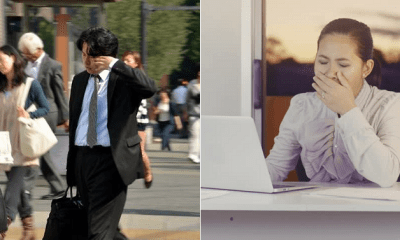 Japan Tech Develops System to Blast Sleepy Employess With Cold Air to Wake Them Up - WORLD OF BUZZ