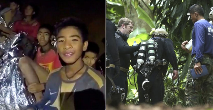 Hollywood Producers Already On Scene to Make Thailand Cave Rescue into an Inspiring Movie - WORLD OF BUZZ