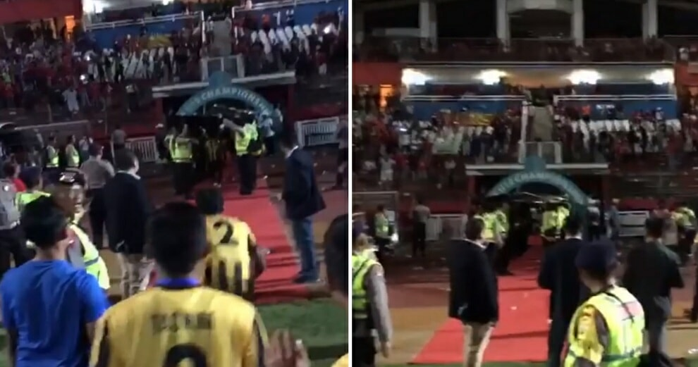 Indonesian Fans Throw Rocks at M'sian Under 19 Team After Win, Syed Saddiq to Visit Them Before Finals - WORLD OF BUZZ