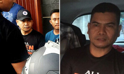 Jamal Yunos Finally Spotted by Indonesian Police, Gets Arrested While Having a Haircut - WORLD OF BUZZ