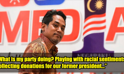 Khairy Criticises Umno For Playing the Race Card Instead of Rebuilding Umno After GE14 - WORLD OF BUZZ 2