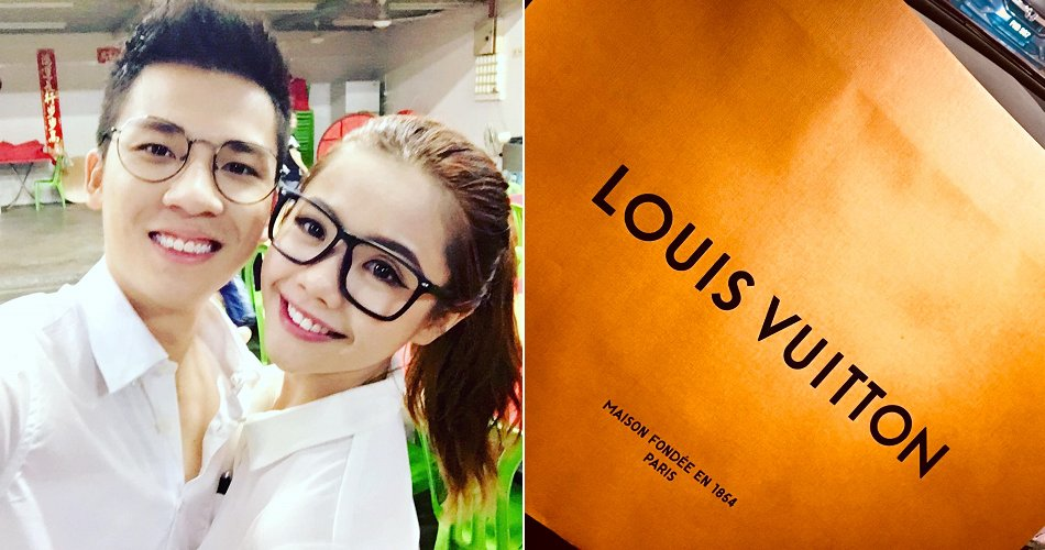 Loving Bf Worked Hard and Bought Louis Vuitton For Gf Because She Has Back Pain - WORLD OF BUZZ
