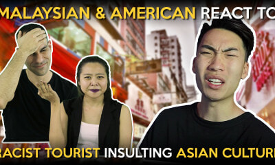 Malaysian & American React to Racist Tourist Insult Asian Culture - WORLD OF BUZZ