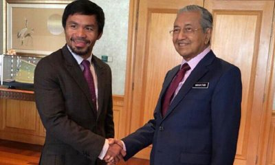 Manny Pacquiao Donates Training Camp Equipment to Malaysia to Promote Boxing - WORLD OF BUZZ 3