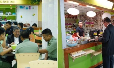 Mat Sabu Spotted Chilling and Eating with Army Staff in MinDef's Cafeteria - WORLD OF BUZZ