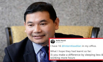 M'sian Netizens Are Not Happy With Rafizi Ramli's Tweet About Working Overtime - WORLD OF BUZZ