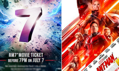 M'sians Can Catch Blockbuster Movies For RM7 Only Using Touch 'n Go E-Wallet, Here's How - WORLD OF BUZZ