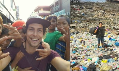 Netherlands Tourist Starts Picking Up Trash, Creates Awareness In Sabah - WORLD OF BUZZ