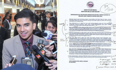 Netizens Decide to Mark Syed Saddiq's Media Statement, Give 39% Grade - WORLD OF BUZZ 1
