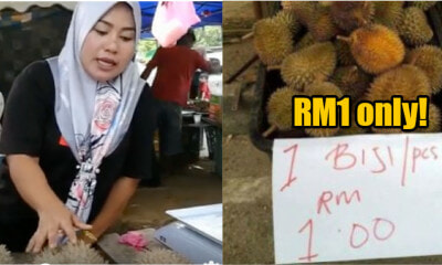 OMG Guys, Prices of Durian in Malaysia Have Just Dropped to RM1 Each! - WORLD OF BUZZ