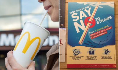 Starting August 1, McDonald's Malaysia Will Stop Providing Plastic Straws Automatically - WORLD OF BUZZ 4