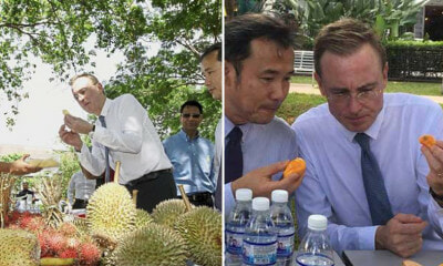 The Mayor Of Adelaide Loves Durians So Much He Simply Can't Resist Them! - World Of Buzz