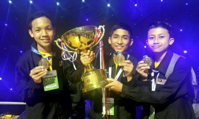 These M'sian Teenagers Were Crowned Champions in an International Robotics Competition - WORLD OF BUZZ