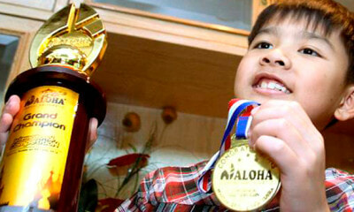 This 8yo M'sian Beats 1,200 Kids in International Mental Arithmetic Competition While Having Fever - WORLD OF BUZZ