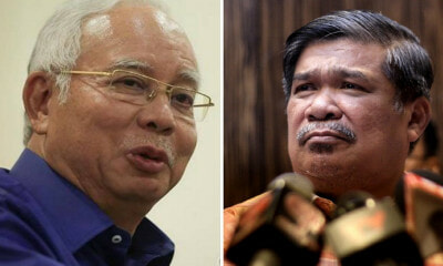 """This is Not Defence Minister Material. This is A Joker,"" Najib Says About Mat Sabu - WORLD OF BUZZ 2"