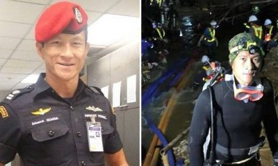 """You Are The Hero in My Heart,"" Says Widow of Deceased Thai Diver in Cave Rescue Mission - WORLD OF BUZZ 7"