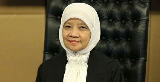 Zaharah is the Second Woman to Become Chief Judge, Here's What You Should Know About Her - WORLD OF BUZZ