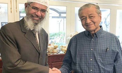 "Zakir Naik Calls Tun M ""Fearless"" For Letting Him Stay in Malaysia - WORLD OF BUZZ 2"