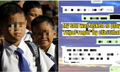 8yo M'sian Boy Shares How His Classmate Asked to Play 'Rogol-Rogol' in School - WORLD OF BUZZ