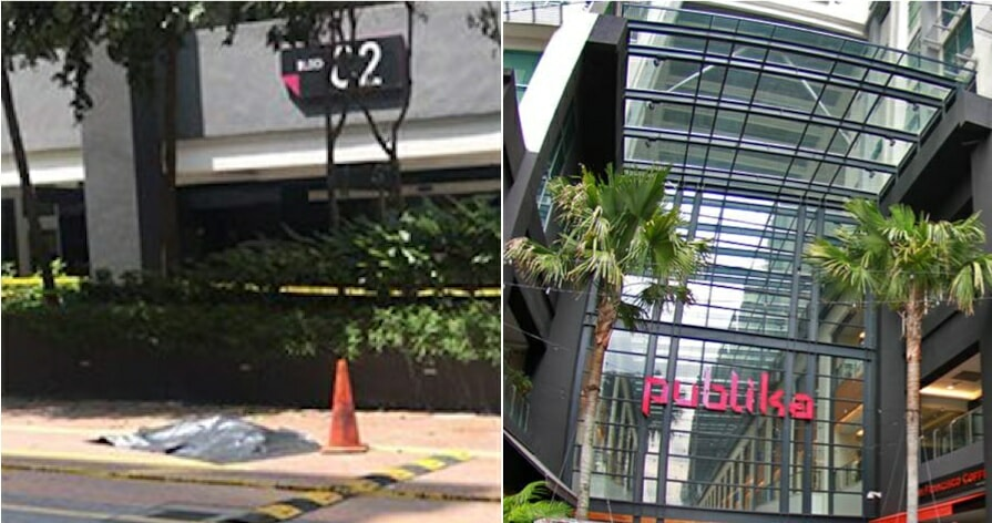 A 50-Year-Old Man Committed Suicide In Publika - WORLD OF BUZZ 3