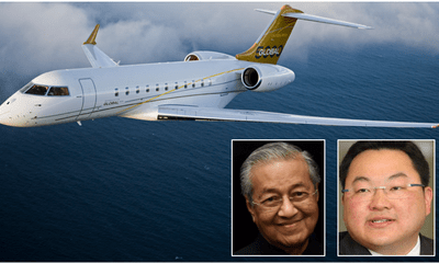 After Equanimity, Jho Low's  RM200 Million Jet Is Coming Back to Malaysia - WORLD OF BUZZ 1