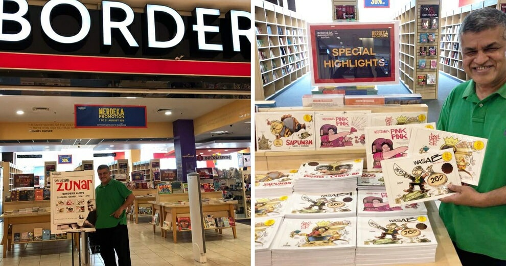 After Years of Arrests & Harrasment, Zunar's Banned Books Are Finally Being Sold in Major Bookstores - WORLD OF BUZZ 2