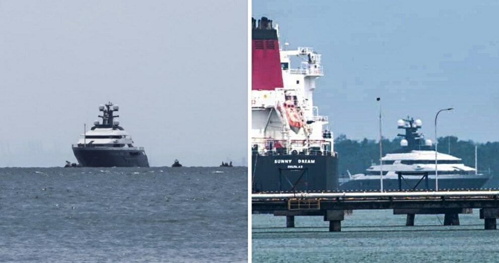 BREAKING: Jho Low's RM1bil Yacht Just Arrived at Port Klang & Could Be Open For Public Viewing - WORLD OF BUZZ 3