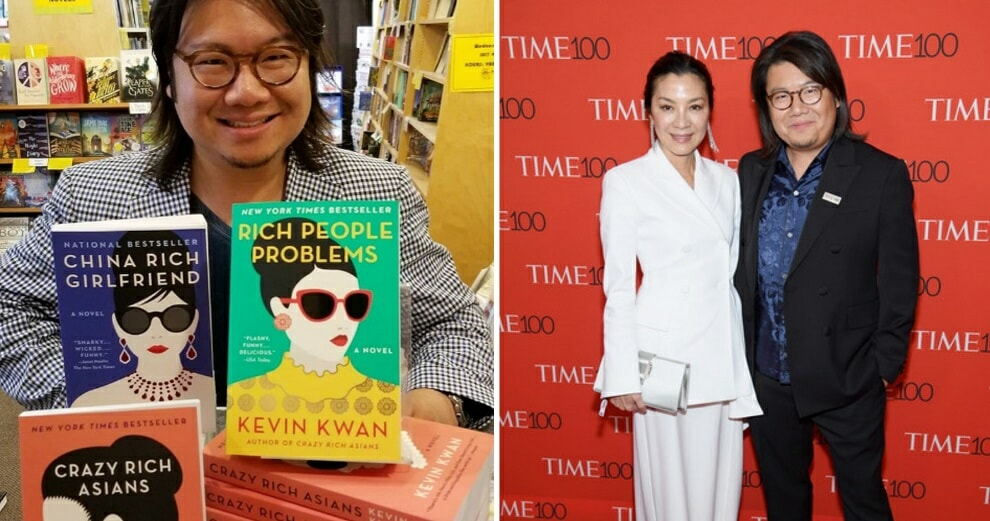 Crazy Rich Asians Author is Wanted in Singapore For Allegedly Avoiding National Service - WORLD OF BUZZ 2