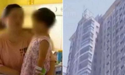 2yo Miraculously Gets Up and Walk Away Without External Injuries After Plummeting From the 17th Floor - WORLD OF BUZZ