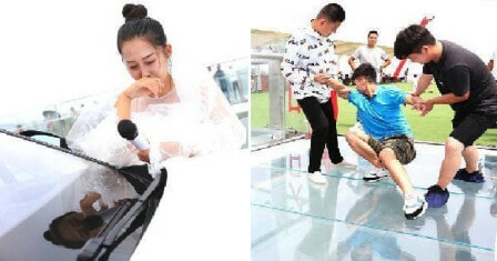 Girl Proposes with New Car and RM600K On Glass Bridge, BF Runs Away Due to Fear of Heights - WORLD OF BUZZ 5