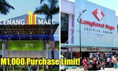Good News! Tax Purchase Limit Of Taxable Goods In Langkawi Raised To Rm1,000 - World Of Buzz