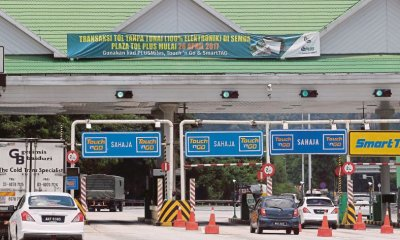 Government Halts Plan to Abolish Tolls Due to Malaysia's Weak Financial State - WORLD OF BUZZ