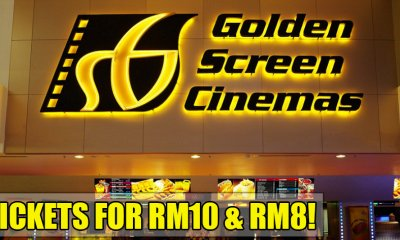 GSC is Offering Movie Tickets From As Low As RM8 Until 28 Sept 2018! - WORLD OF BUZZ